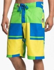 colorblock board shorts men's