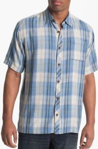 tommy bahama plaid tall shirt