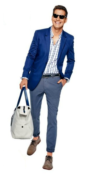 causal friday tall men's outfit