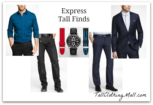 express tall men clothing