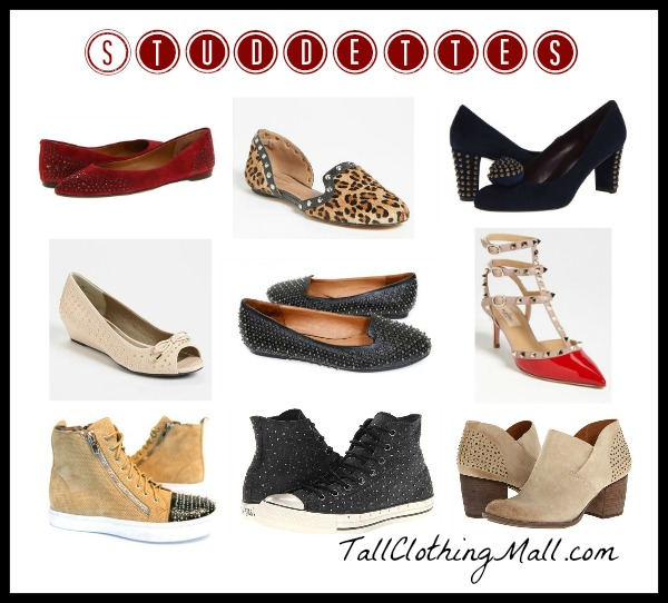 womens studded shoes for fall - shoe trends