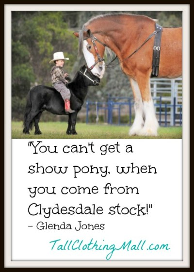 you can't get a show pony