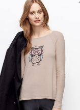 tall owl sweater