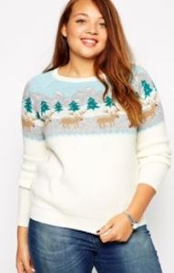 plus size holiday sweater on sale