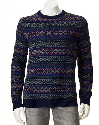 Mens Tall Fair Isle - Tall Clothing Mall