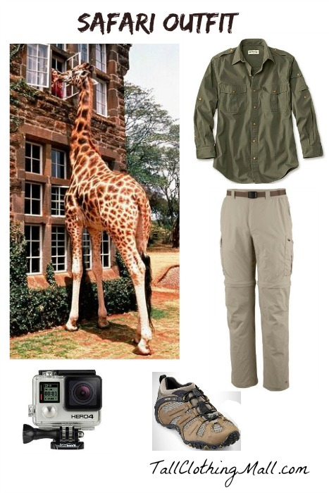 tall safari outfit