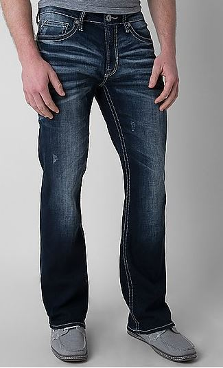 Mens Bootcut Jeans 36 Quot Inseam With Slight Whiskering