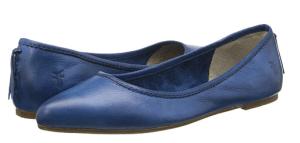 size 12 blue ballet flats