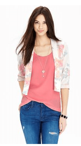 tall cropped blazer