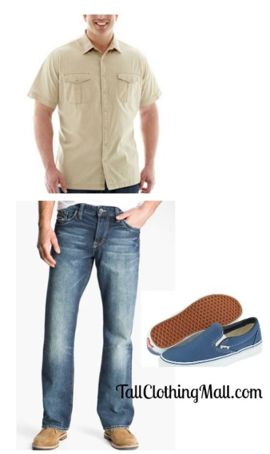 cool tall outfit mens