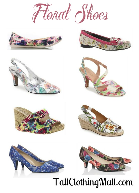 womens floral shoes