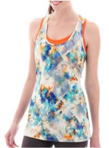 printed tall tank top