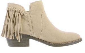 fringle ankle booties