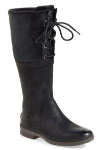 ugg tall black boots
