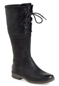 ugg tall black boots