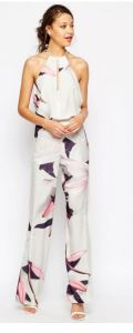 printed tall jumpsuit