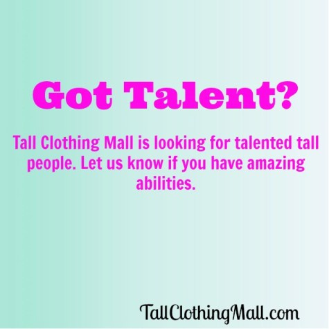 talented tall people