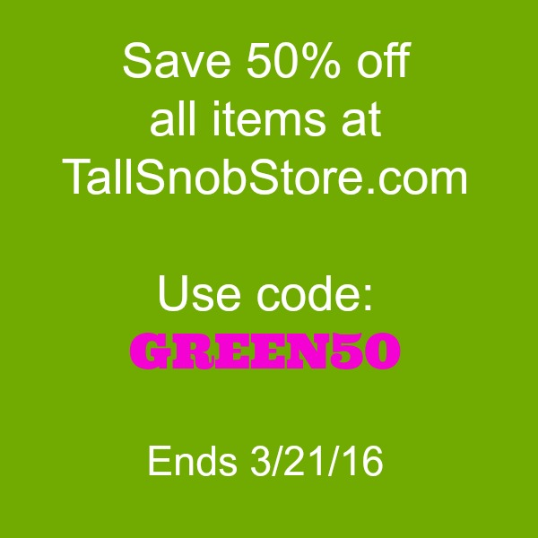 tall snob store discount