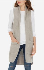 women's tall vest