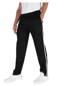 striped tall workout pants for men