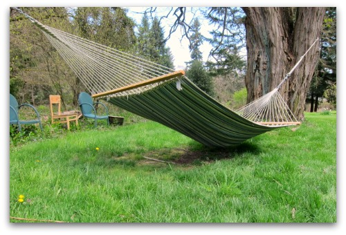 sagging hammock