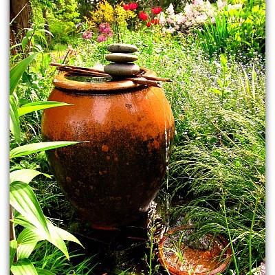 How to Make a Garden Fountain