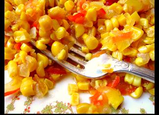 corn relish fresh off the cob