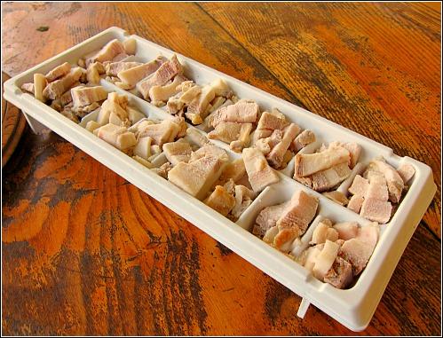 bacon ice cube tray