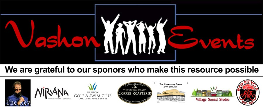 Vashon Events Banner