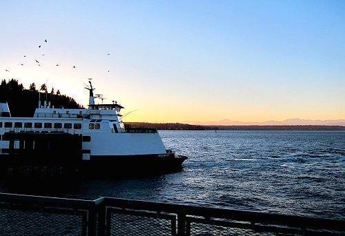 washington state ferry dock