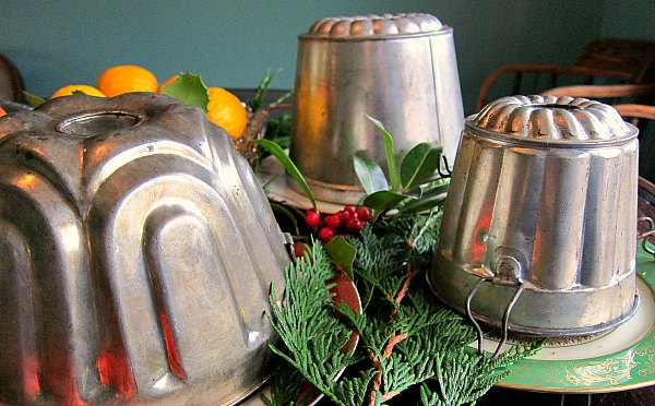 fruitcake molds pudding tins