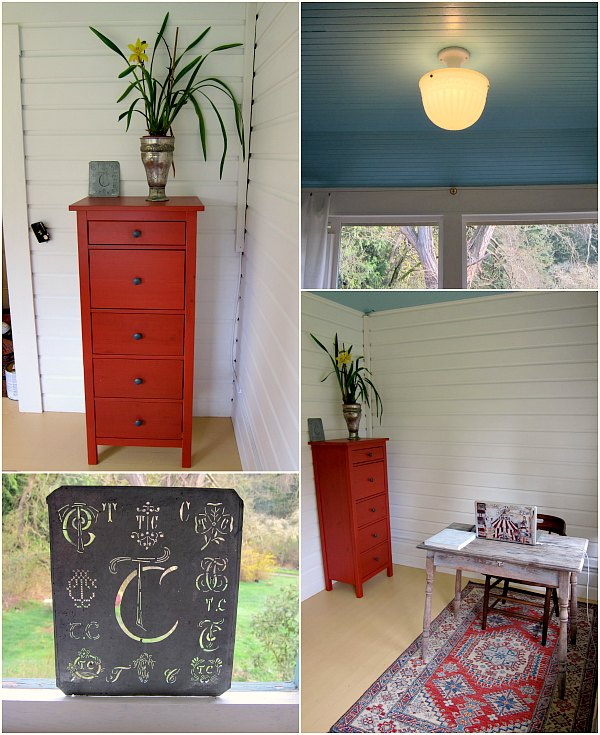 upstairs office makeover