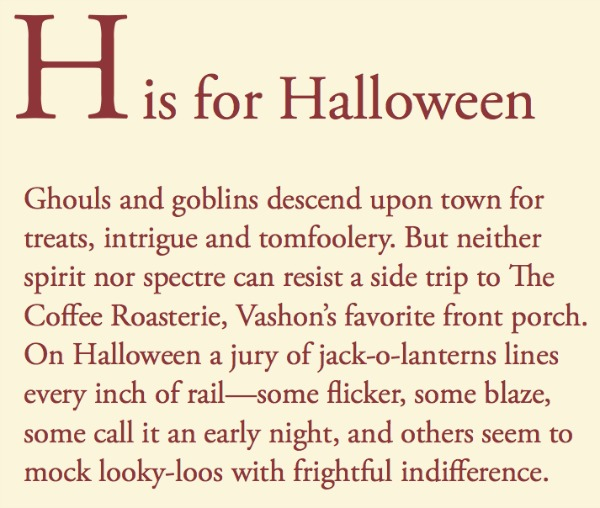 Tom Conway text Halloween