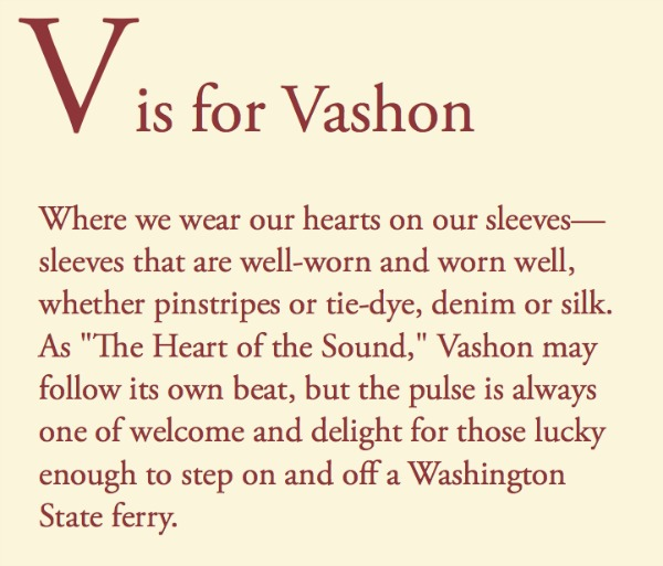 Tom Conway text Vashon