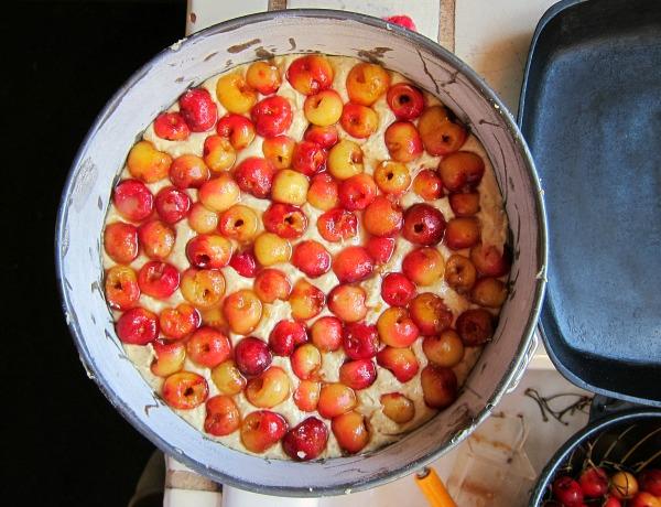 rainier cherry almond cake recipe