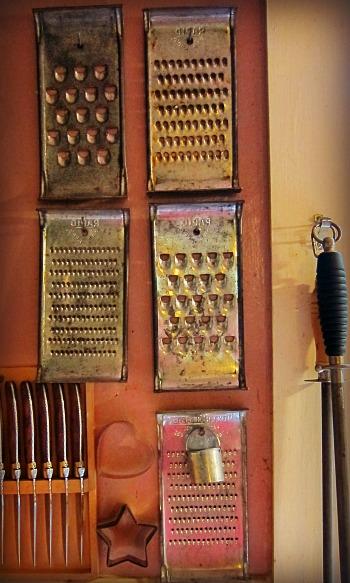 hand graters vintage kitchen gadgets