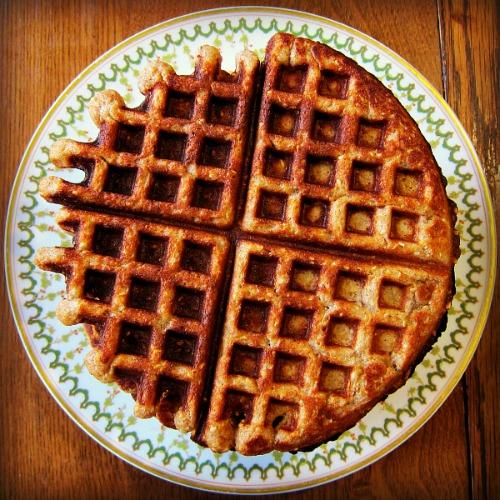 waffle round