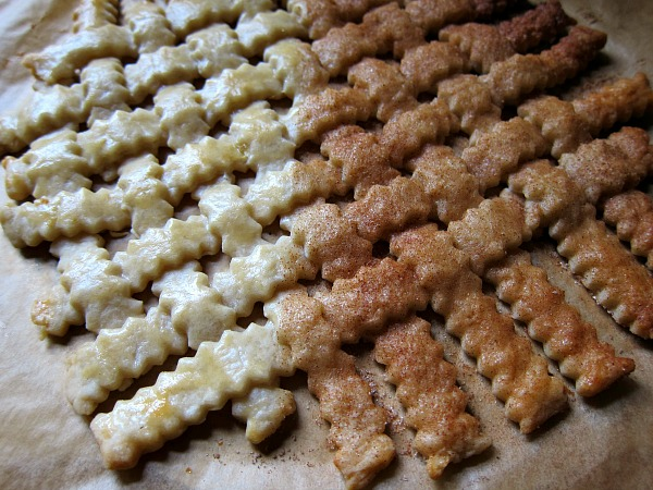 lattice top pie dough