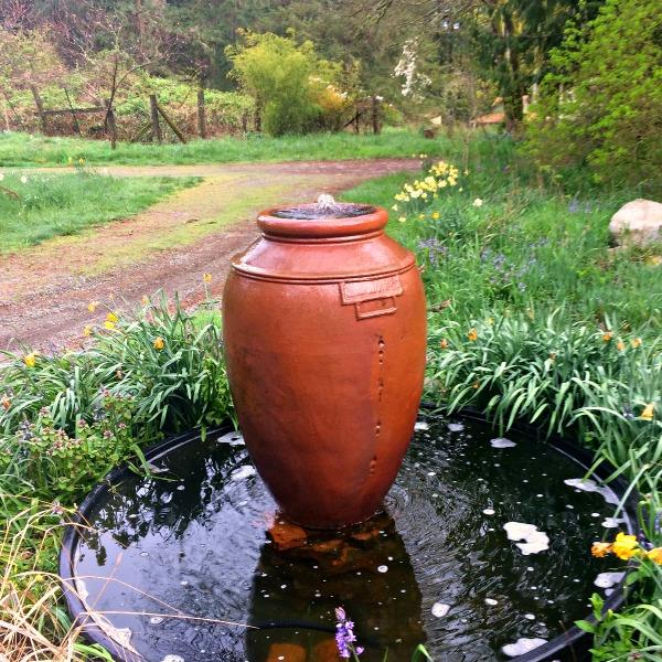 classic garden fountain urn