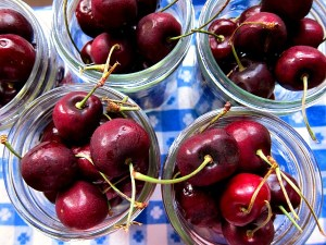 Sweet Cherry Pickles