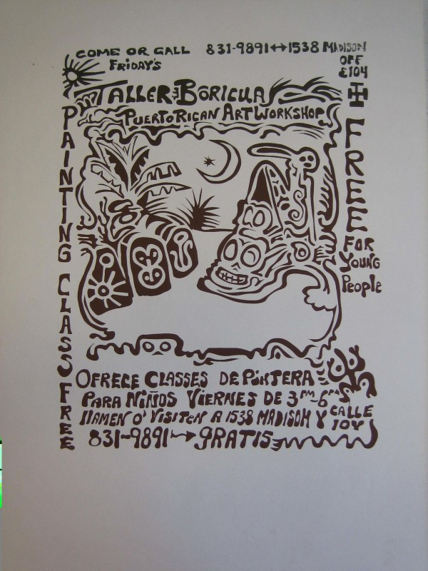 1972 Taller Boricua And Puerto Rican Art Movement In