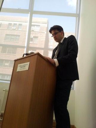 Alan Bekhuis - Simposio en la Penumbra Foundation, NY