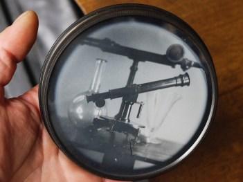 A daguerreotype demostration with Voigtlander's Canon