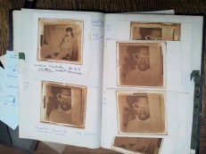 We exhumed the old heliogravure sketchbooks starded in 1994!