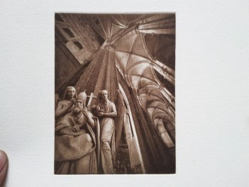 Heliogravure print