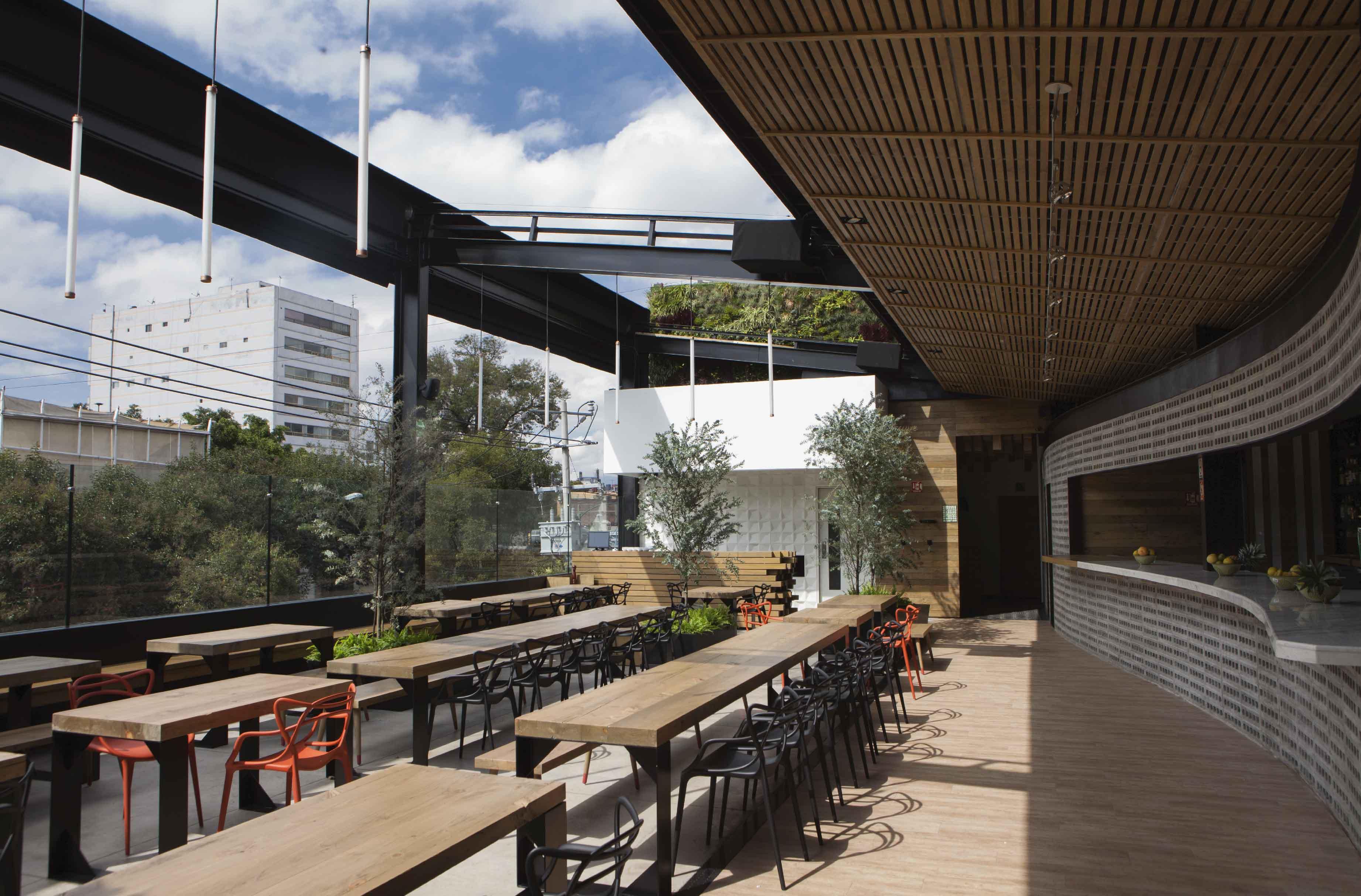Balmori Rooftop Bar  Taller David Dana Arquitectura