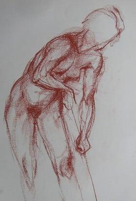 Aprendre a dibuixar la figura humana al centre Taller 4 Pintors