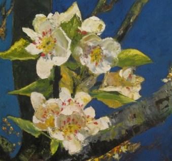 Pintura de flores al óleo, clases en Barcelona