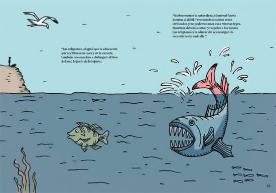 Original drawing for children's book by Laura Klamburg, Barcelona art courses
