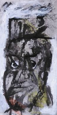 Rostro, tinta y papel. Clase en 4 Pintors, Barcelona
